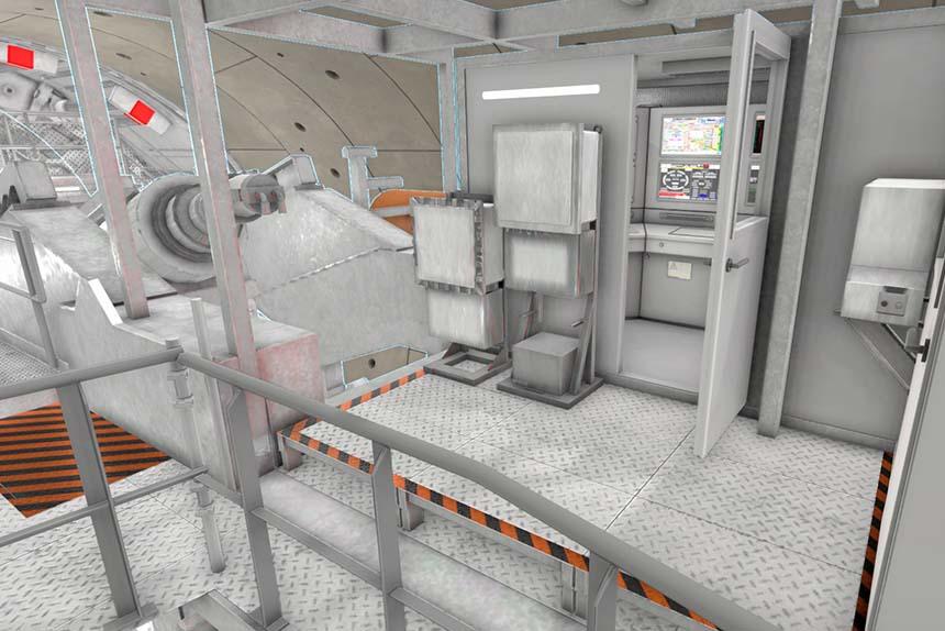 Simulateur de tunnelier